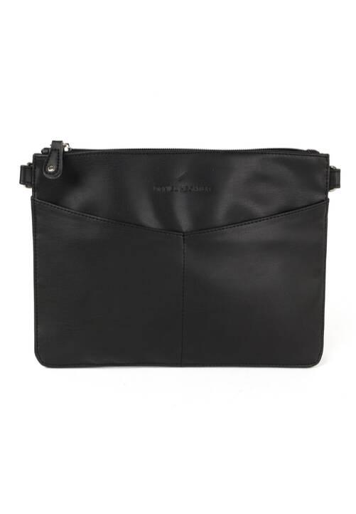 Elegant Clutch Bag, black